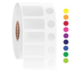 Cryo barcode labels - 25.4 x 12.7 + 9.5mm  #JTT-183