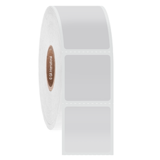 Cryogenic Direct Thermal Labels - 25.4 x 25.4mm  #DFP-29