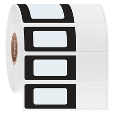 Cryogenic Cover-Up Labels for Frozen Vials and Tubes - 39.9 x 19 + 23.6mm #AEA-1