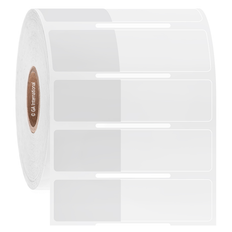 Cryogenic Thermal Transfer Labels for Frozen Vials & Containers- 25.4 x 15.9 + 35mm wrap  #L2FS-312