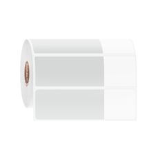 Cryogenic Thermal Transfer Labels for Frozen Vials and Tubes- 69.9mm x 30.2mm + 31.8mm Wrap  #FSA-334