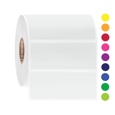 Direct Thermal Paper Labels - 63.5mm x 25.4mm  #DT-5
