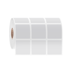 Cryogenic Direct Thermal Labels - 31.8 x 31.8mm  #DFP-271