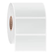 Paper Labels for Thermal Transfer Printers - 50.8 x 25.4mm  #GPA-28