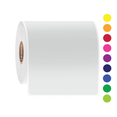 Removable Solvent-Resistant Color Labels for Containers - 76.2 x 127mm  #AUAR-186