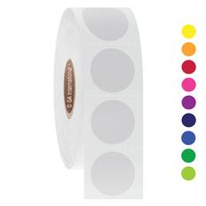 Deep-Freeze Barcode Labels - 19.1mm Circle  #FJT-106