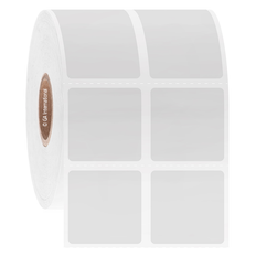 Deep-Freeze Barcode Labels - 25.4mm x 25.4mm  #FJT-222
