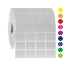 Deep-Freeze Barcode Labels - 22.9mm x 19.1mm  #FJT-201