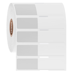 Wrap-Around Labels for Cryogenic Use - 29mm x 15mm + 38mm wrap  #HBTT-346NPNOT
