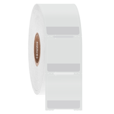 Wrap-Around Cryo & Autoclave-Resistant Thermal-Transfer Labels - 25.4mm x 12.7mm +19.05mm wrap #CATT-318NOT