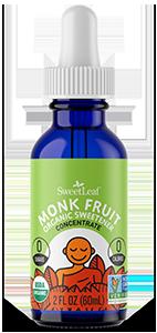 Unflavored Organic Monk Fruit Liquid Drops