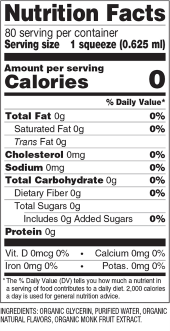 Strawberry Guava Monk Fruit Sweetener Nutrition Facts