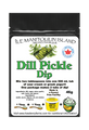 Dill Pickle Dip Mix. Mix 1 tbsp in 1 cup of sour cream or yogurt. For best results allow to mellow in fridge for 1 hour. Great with chips, vegetables, baked potato, etc.