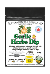 Mix 1 Tbsp in 1 cup of sour cream or yogurt. For best results allow to mellow in fridge for 1 hour. Great with chips, vegetables, baked potatoes, etc.