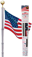 The Liberty Telescoping flag pole.