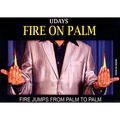 Fire on hands by Uday - Trick