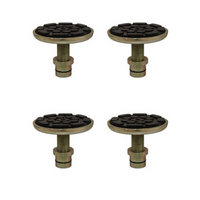 W-P201730-4  Set of 4 Screw Pad Adapters
