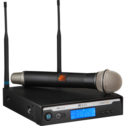 Electro-Voice R300-HD-A Handheld System - PL22 Dynamic