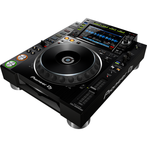 CDJ 2000NXS2 Professional DJ multi player w/ touchscreen (angle view)