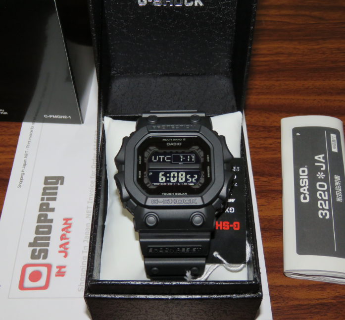 Bb Auto Sales >> G-Shock GXW-56BB-1JF Basic Black Multiband 6 - Shopping In Japan .NET