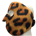 Face Mask - Leopard Neoprene