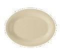 """828537- 9.75"""" Oval Sandstone Platter, 24/cs."""