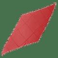 Diamond Cut Silk 36 inch (RED) by Magic by Gosh - Trick