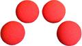1.5 inch Regular Sponge Ball (Red) Box of 4 from Magic by Gosh