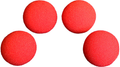 2.5 inch Regular Sponge Ball (Red) Pack of 4 from Magic by Gosh