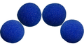 2 inch High Density Ultra Soft Sponge Ball (Blue) Pack of 4 from Magic by Gosh