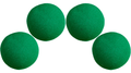 2 inch High Density Ultra Soft Sponge Ball (Green) Pack of 4 from Magic by Gosh