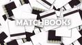 White matchbooks (Box of 50)
