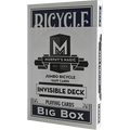 Jumbo Invisible Deck Bicycle (Blue) - Trick