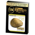 Bended Coin (50 cents Euro)(E0075) by Tango - Trick (E0075)