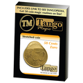 Stretched Coin 50 cents Euro by Tango - Trick (E0074)