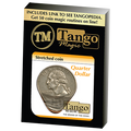 Stretched Coin Quarter Dollar by Tango- (D0095)