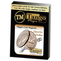 Flipper Coin Magnetic Quarter Dollar (D0043)by Tango - Trick