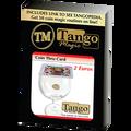 Coin thru Card (2 Euro) by Tango - Trick (E0015)