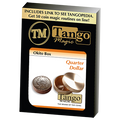 Okito Box (Brass) - US Quarter by Tango Magic -Trick (B0010)