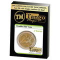 Double Sided Coin (2 Euro) by Tango - Trick (E0027)