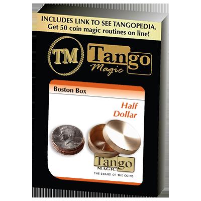 Boston Box (Half Dollar)(B0008) by Tango - Trick - Big Guy's Magic Store