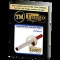 Cigarette Through 2 Euros (E0013) (Two Sided) - Trick