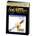 Cigarette Through (50 Cent Euro, Two Sided) (E0010) by Tango - Trick