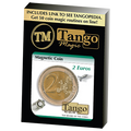 Magnetic 2 Euro coin E0021 by Tango - Trick