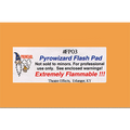 "Theatre Effects Pyrowizard™ Flash Paper Sheets - 2""x3"" 20 sheets"