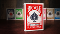 Bicycle Playing Cards Poker (Red) by US Playing Card Co