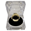Wizard PK Ring Original (FLAT, GOLD, 16mm) by World Magic Shop - Trick