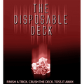 Disposable Deck 2.0 (red) by David Regal - Trick