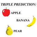 Apple, Banana, Pear by Ickle Pickle Products - Trick