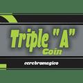 Triple A Coin (Quarter) by Cerebro Magico